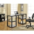 Altra Furniture Deluxe Parsons Desk, Espresso Finish, ESPRESSO