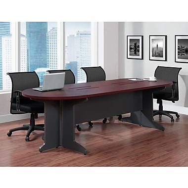 Altra Furniture Pursuit Large Conference Table, CHERRY