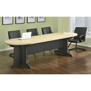 Altra Furniture Benjamin Large Conference Table, NATURAL