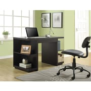 Altra Furniture Hollow Core Desk, ESPRESSO