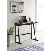 Altra Furniture Student Desk with Multiple Color Inserts, DARK GRAY