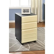 Altra Furniture Benjamin 3-Drawer Mobile Pedestal File