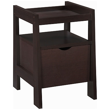 Altra Furniture Modern Mission File & Printer Stand , MEDIUM OAK - IMPORT