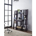 Altra Furniture Ladder Bookcase with Desk, Espresso, ESPRESSO