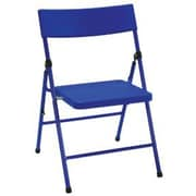 Cosco Products Cosco Kid's Pinch-free Folding Chair Blue (4-pack), BLUE