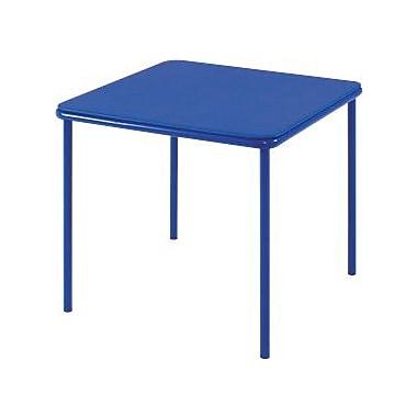 Cosco Kid's Vinyl Top Table Blue, BLUE