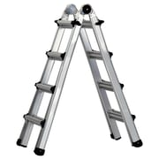 Cosco Products Cosco 17' Multi-Positon Ladder System, ALUMINUM YELLOW TYPE 1A