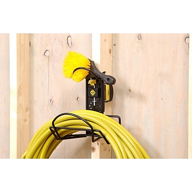 Cosco Products Hose and Accessory Storage Kit, FLIP CLIP YELLOW BLACK
