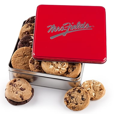 Mrs. Fields® 12 Cookies Classic Tin