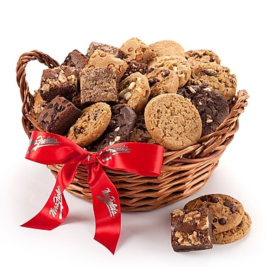 Mrs. Fields® 12 Cookies & 12 Brownies Basket