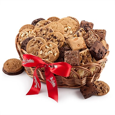 Mrs. Fields® 24 Cookies & 12 Brownies Basket