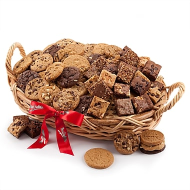 Mrs. Fields® 48 Cookies & 24 Brownies Basket