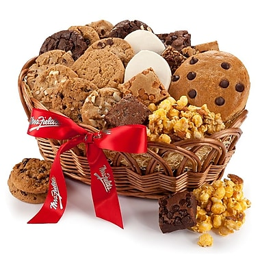 Mrs. Fields® Deluxe Basket Of Treats