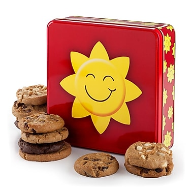 Mrs. Fields® Bright 'n' Sunny 12 Cookie Tin