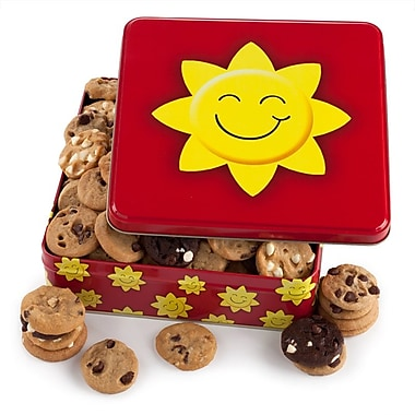 Mrs. Fields® Bright 'n' Sunny 60 Nibblers® Tin