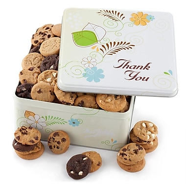 Mrs. Fields® 112 Nibblers® Thank You Tin
