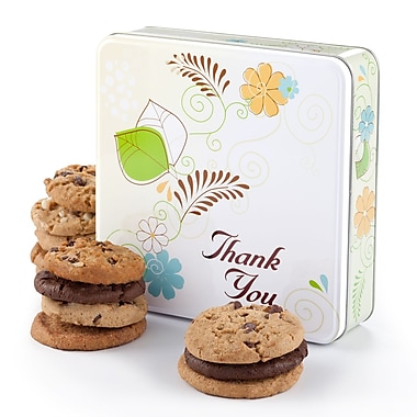 Mrs. Fields® 12 Cookies Thank You Tin