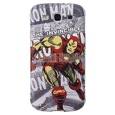 Anymode Marvel Comic Kickstand Hard Case For Samsung Galaxy S3, Iron Man