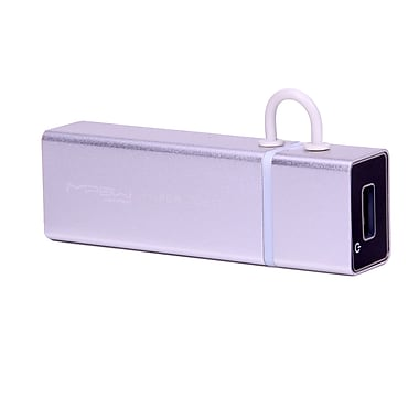 MiPow™ Power Tube 4000mAh Portable Charger, Silver