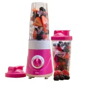 Maxi-Matic® Elite Personal Drink Mixer With 28 oz Two Travel Cups, Pink
