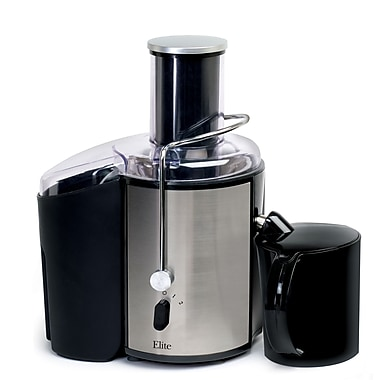 Maxi-Matic® Elite Platinum 2-Speed 32oz Whole-Fruit Juice Extractor, Black