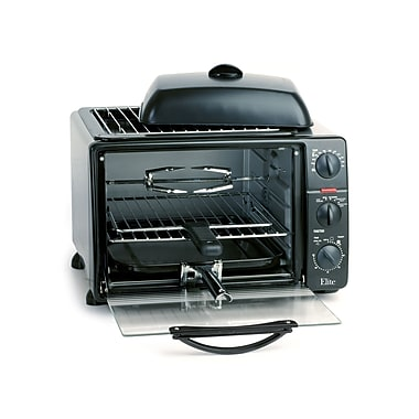 Maxi-Matic® Elite Platinum 23 Liter Toaster Oven, Black
