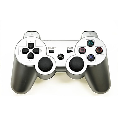 Arsenal Gaming PS3 Wired Controller, Silver