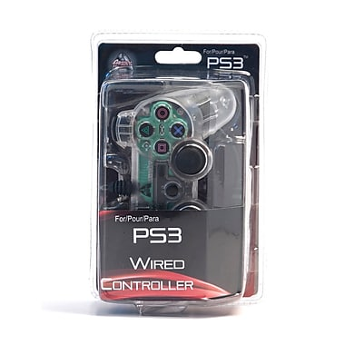 Arsenal Gaming PS3 Wired Controller With Lights, Clear