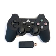 Arsenal Gaming PS3 Wireless Rubberized Controller, Black