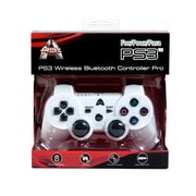 Arsenal Gaming PS3 Bluetooth Controller, White
