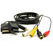 Arsenal Gaming 4ARG75057 7' S-Video to RCA Cable, Black
