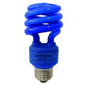 Earthbulb® 13 W Spiral Compact Florescent Light Bulb, Blue, 12/Pack