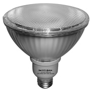 Earthbulb® 23 W 3500K PAR38 Flat Compact Florescent Floodlight, Bright White