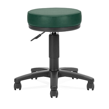 OFM™ 3in. Anti-Bacterial Vinyl Padded Utilistool, Teal
