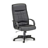 OFM™ Encore Series Leatherette Executive Chair With High-Back, Black