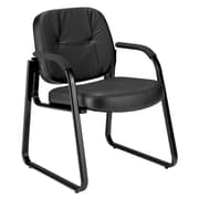OFM Steel Guest/Reception Chair, Black (503-L)