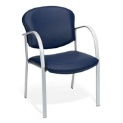OFM Danbelle Steel Contract Reception Chair, Navy (414-VAM-605)