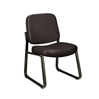 OFM™ Anti-Bacterial Vinyl Padded Guest/Reception Chairs With Back