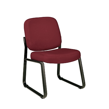 OFM Steel Guest/Reception Chair, Wine (405-803)