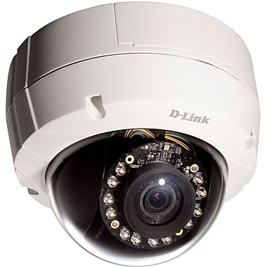 D-Link® DCS-6511 Day & Night Vandal-Proof Fixed Dome Network Camera