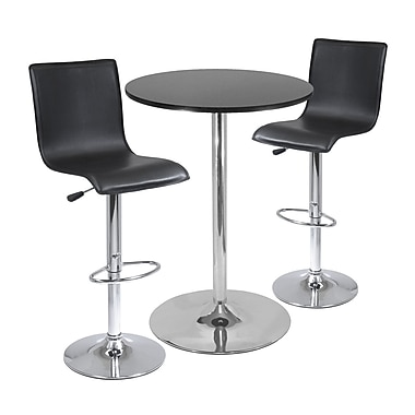 Winsome Spectrum, 3-piece Pub Table Set, 28