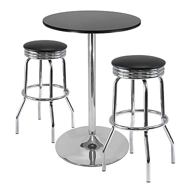 Winsome Summit 3-piece Pub Table Set, 28