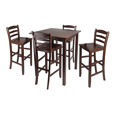 Winsome Parkland 5pc High Table With 29