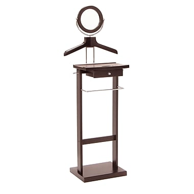 Winsome Valet Stand with Wood Base, Espresso