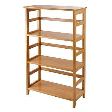 Winsome Studio 3-Tier Bookshelf, Honey