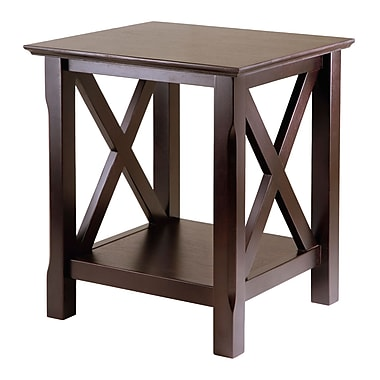 Winsome Xola End Table, Cappuccino