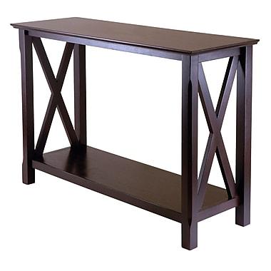Winsome Xola Console Table, Cappuccino