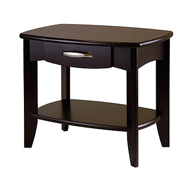 Winsome Danica End Table, Espresso