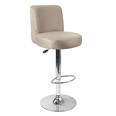 Winsome Jayden Air Lift Stool with Micro Fiber Top, Beige