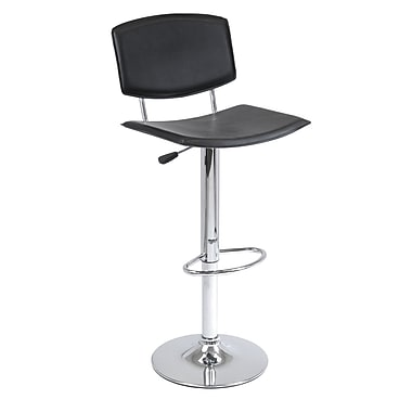 Winsome Spectrum Air Lift Stool, Black